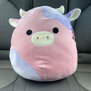 "NWT Squishmallows Patty the Cow 16"" RARE"